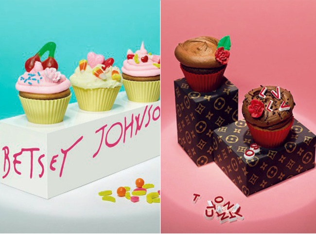 Lisa Edsalv - Cupcake Fashion: Betset Johnson e Louis Vuiiton