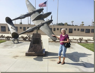 Memorials  & Karen March Air Force Museum 20140219