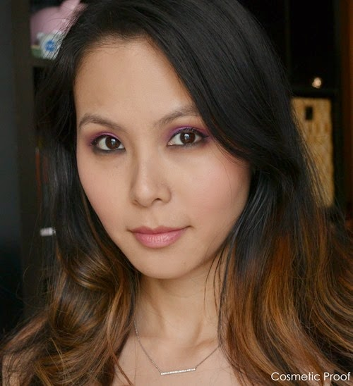MAKE UP FOR EVER Artist Shadows Makeup Look (3)