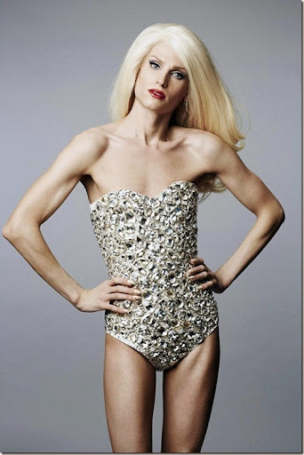 Transvestite fashion designer