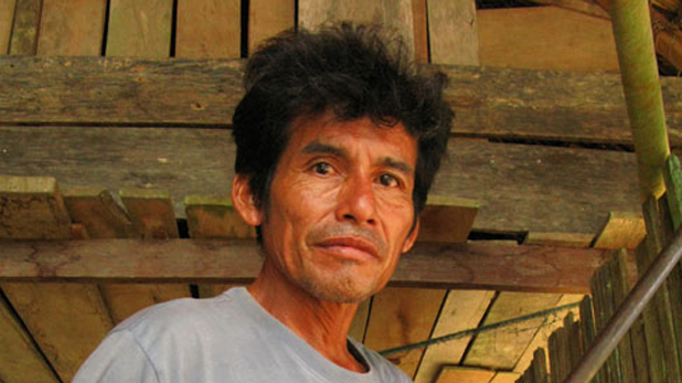 Activist Edwin Chota, outspoken Peruvian opponent of illegal logging, was slain in a remote region bordering Brazil, tribal authorities said on  September 2014.He had received frequent death threats from illegal loggers, who he had tried for years to expel from the lands for which his community was seeking title. Photo: www.lifegate.it