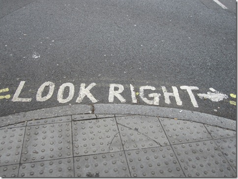 I would not survive in London without these painted at nearly every crosswalk