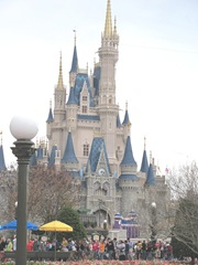 Disney castle 2013