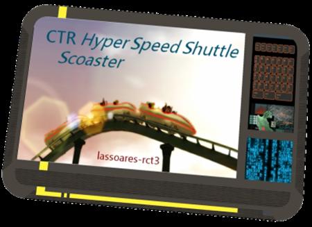 CTR Hyper Speed Shuttle (Scoaster) lassoares-rct3