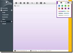 يمكنك تغير لون واجهة البرنامج كما تحب بحيث يتناسب مع ذوقك أو شكل ثيم الويندوز