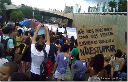 Marcha das Vadias em Brasília - DF