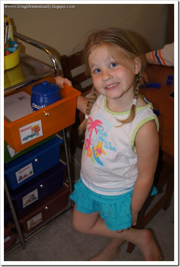 Our homeschool workboxes for Toddler, Preschool, and K12