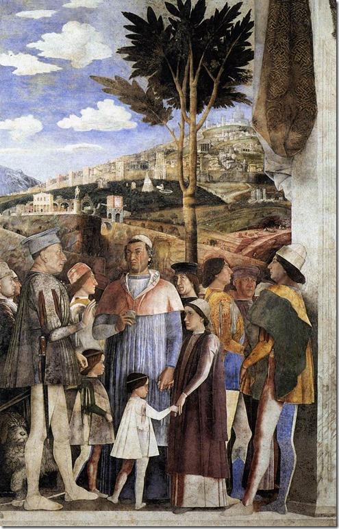 andrea mantegna - dwór gonzagów (1465-1474), camera degli sposi