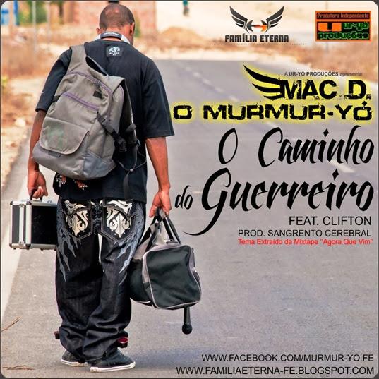 Capa Single ''O Caminho do Guerreiro''