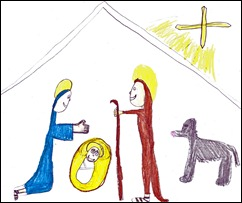 Nativity by Mikayla 2011