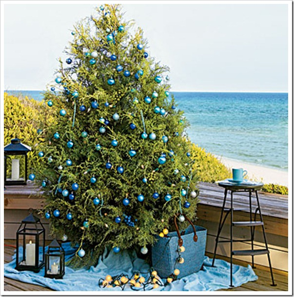 Coastal Christmas tree