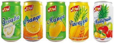 Canned Fruit Juice