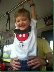 ty on bus