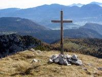 Pogled proti Bohinju z vrha Ogradov