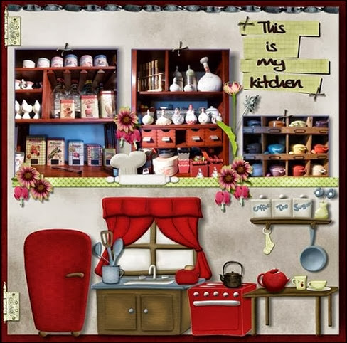 Catherine Simon kitchen