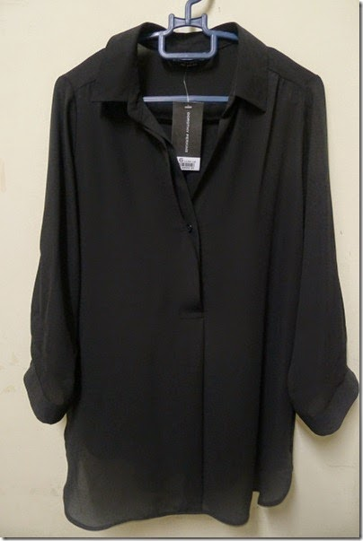 Dorothy Perkins black blouse