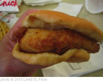 'Chick-Fil-A Chicken Sandwich' photo (c) 2010, Link576 - license: http://creativecommons.org/licenses/by/2.0/