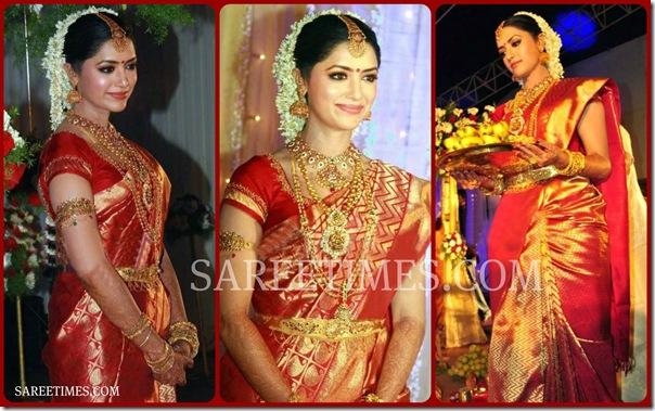 Mamatha_Mohandas_Wedding_Saree