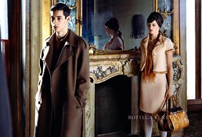 Nicolas Ripoll + Isabella Fontana by Robert Polidori for Bottega Veneta F/W 2011