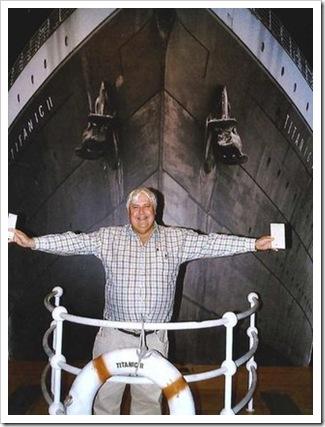 Clive Palmer - o dono do novo Titanic