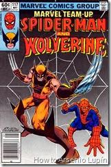 Marvel team up #117 y #118, aqui nace uno de los villanos mas polemicos de los X-men , curiosamente se le vera muchas veces con spidey ayudandoles contra el.