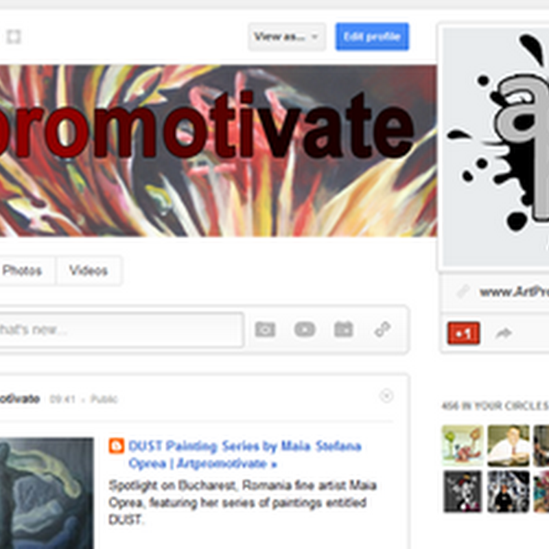How Artists Can Promote Art With Google Plus Pages in 2012