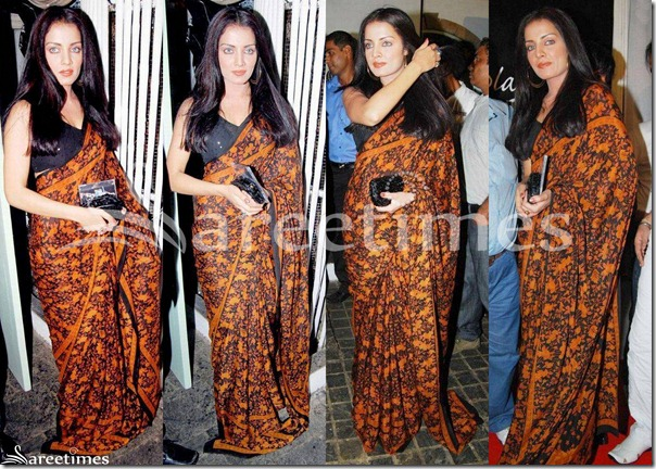 Celina_Jaitley_Printed_Saree