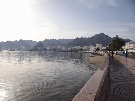 Obiective turistice Oman: Corniche Mutrah