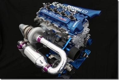 MAZDA MOTORSPORTS SKYACTIV-D CLEAN DIESEL ENGINE