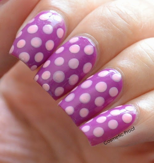Polka Dots with Revlon Gel Envy Up the Ante and Cardshark
