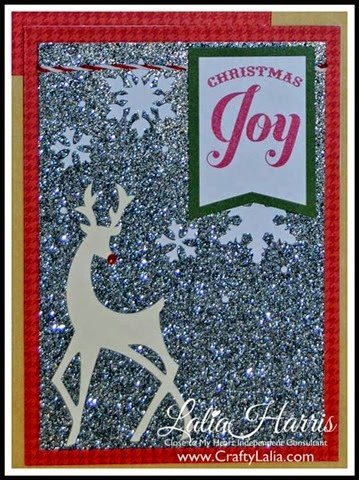 CTMH Christmas Card Kit from the Cut Above Collection 5x7 Card