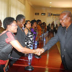 tn_PREZ MAHAMA WELCOMING NAT. PREZ WOMENS AGLOW MRS. DOROTHY DANSO.JPG