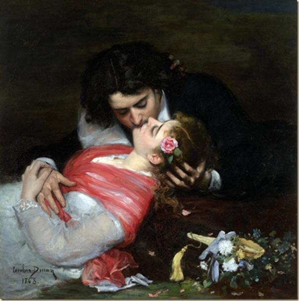 Carolus Duran, Le baiser