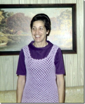 1972 - Trudy Rhodes at home