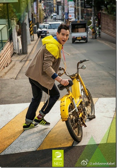 adidas Neo Label X Eddie Peng 2014 summer-fall 09