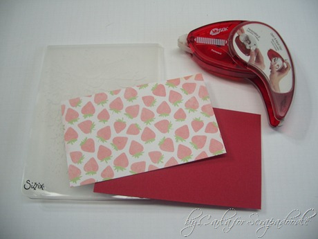 Embedded Embossing, Neopolitan Papers, THoltz Cracked Embossing Folder, Scrapadoodle, Carla (1)