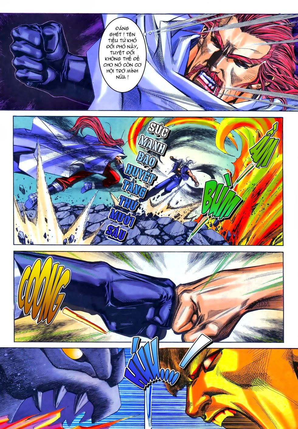 X Bạo Tộc chap 69 - Trang 4