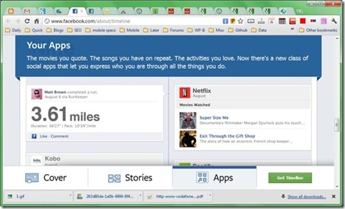 facebook-timelines