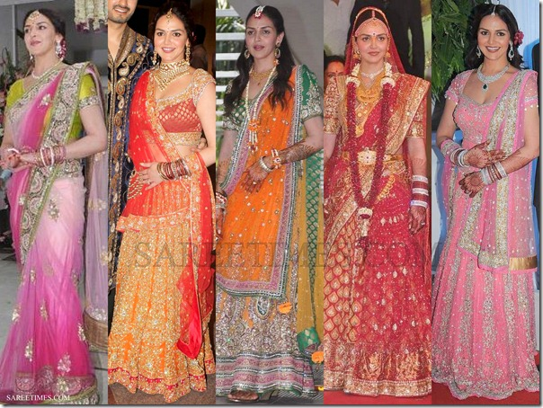 Esha_Deol_Sarees