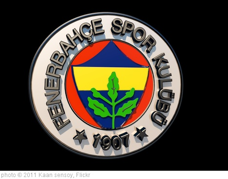 'Fenerbahce SK 3D logo (Official)' photo (c) 2011, Kaan sensoy - license: http://creativecommons.org/licenses/by/2.0/