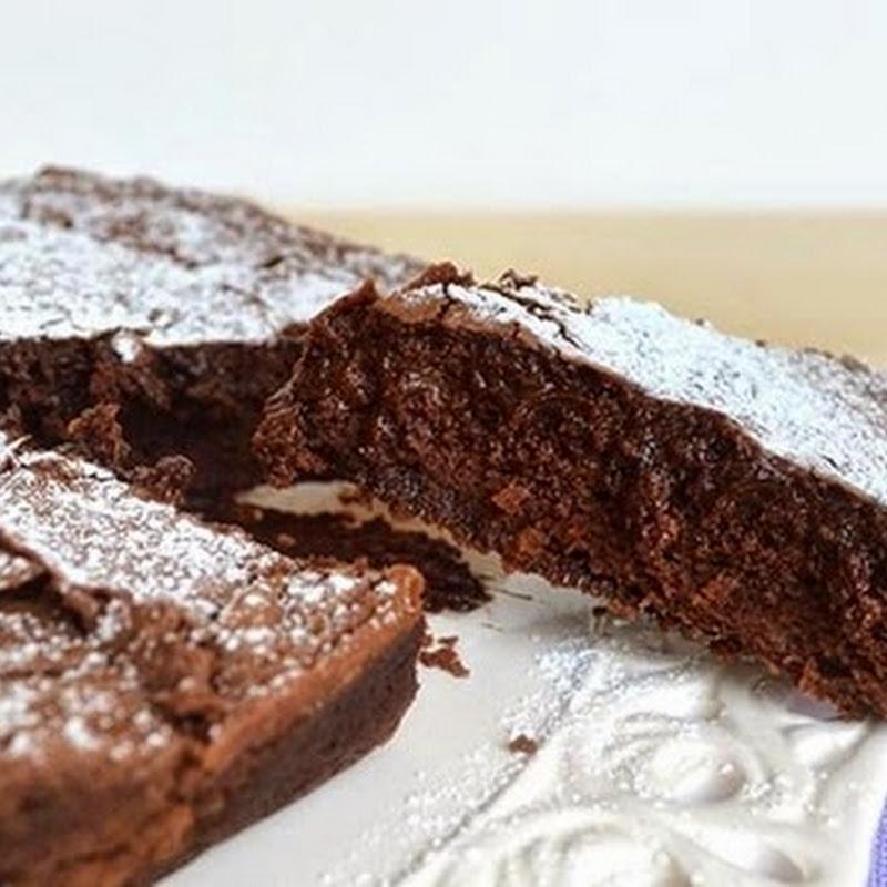 Κέικ με μαύρη σοκολάτα