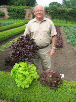 Gardener with his lettuce!