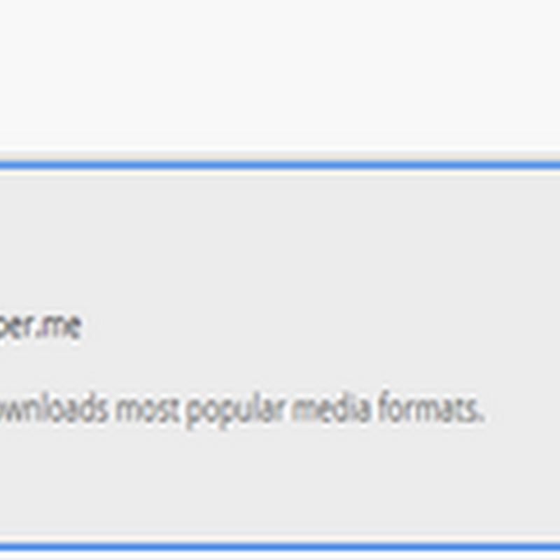 ดาวน์โหลดไฟล์แฟลช swf หรือ flv ง่ายๆ บน Google Chrome