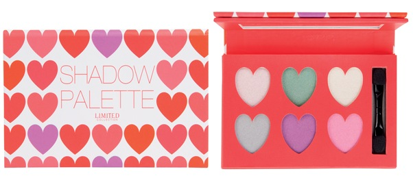 Limited Collection Shadow Palette- Hearts (together)