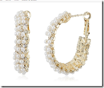 Amazon : Buy Ava Pearl Bali for Women (Gold) at Rs. 199 only