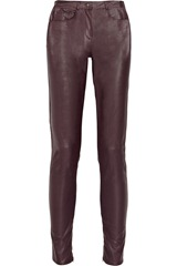 Karl Pacey faux leather skinny pants