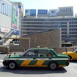taxi in shinjuku in Shinjuku, Tokyo, Japan