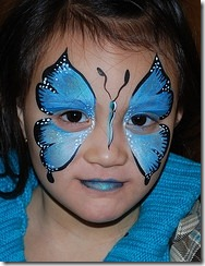 maquillaje mariposa halloween (8)