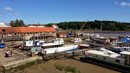 THe Quayside at Woodbridge