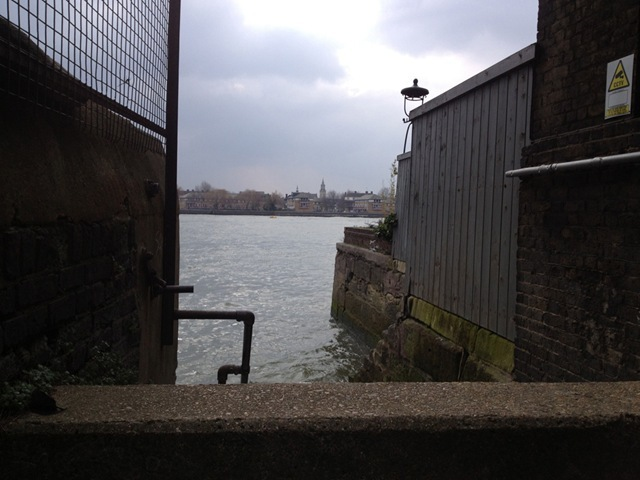 At the Riverfront Wapping